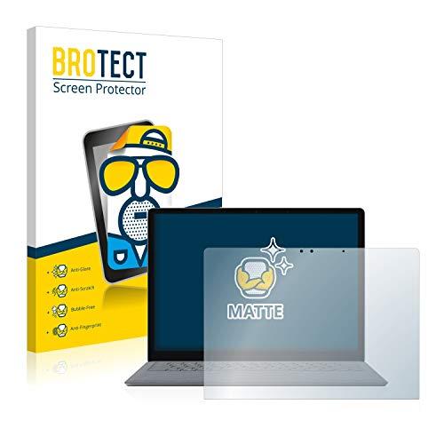 BROTECT Protector Pantalla Mate Compatible con Microsoft Surface Laptop 2 - Anti-Reflejos
