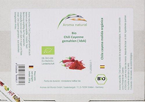 Aroma natural Chili Cayenne gemahlen (kbA) 150 g, 1er Pack (1 x 150 g)