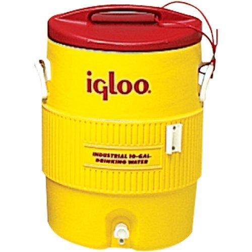Iglu-5gal Gelb/Rot plasticind. Cooler-385-451