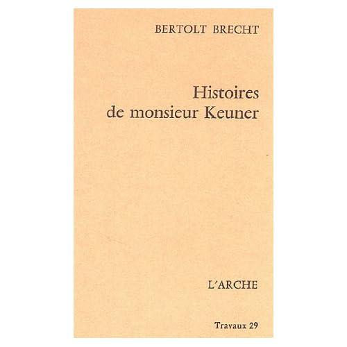 Histoires de monsieur Keuner