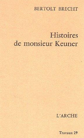 Histoires De Monsieur Keuner [Pdf/ePub] eBook