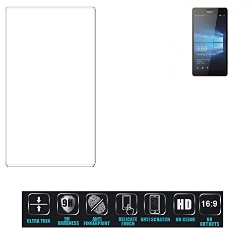 Für Microsoft Lumia 950 XL Dual SIM Schutzglas Glas Schutzfolie Glasfolie Bildschirmschutzfolie Bildschirmschutz Hartglas Tempered Glass Verb&glas für Microsoft Lumia 950 XL Dual SIM 16:9 Format, b