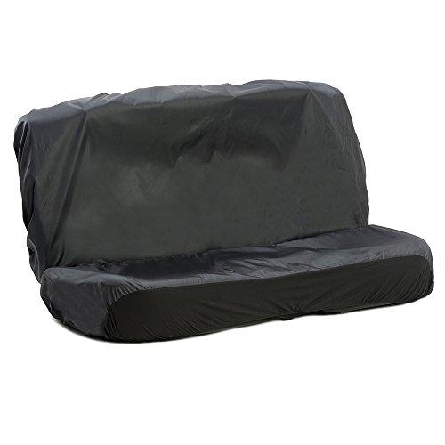 Autocompanion - coprisedili impermeabili per sedile posteriore monoblocco auto, universali (con possibilità di scelta per sedile anteriore o posteriore), nero