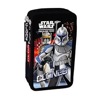 Star Wars/Clone Wars estuche – 2-zip