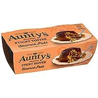 Aunty's Al Vapor Pegajosos Pudines Toffees 2 X 110g