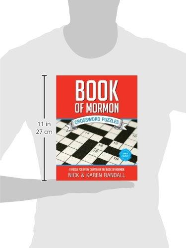 Book of Mormon Crossword Puzzles