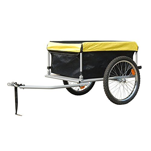 Bike Trailer with Cover 140 litres