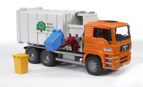 Image of Bruder 02761 MAN Side Loading Garbage Truck