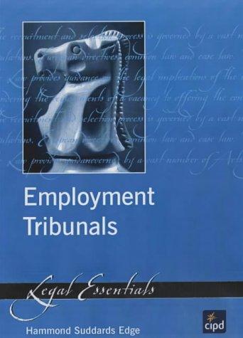 Employment Tribunals (Legal Essentials) por Hammond Suddards Edge