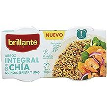 Brillante Arroz Integral Con Chía, Quinoa, Espelta Y Lino 125G X 3 - [