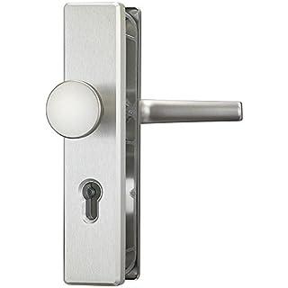 Abus Schutzbeschlag Türschutzbeschlag ohne Zylinderschutz HLN414 F9