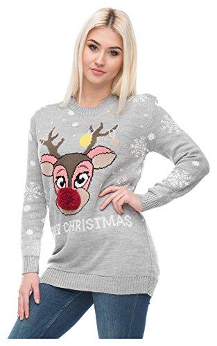 premium selection 7cad1 98b8d Billig Loomiloo Weihnachten Christmas Sweater Pullover Pulli ...