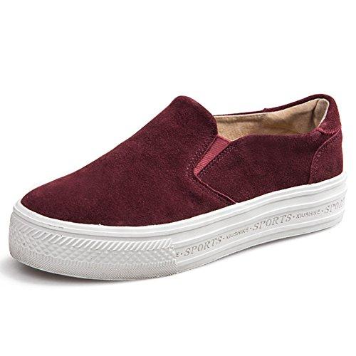 Les Chaussures De Femmes Printemps,Chaussures Paresseux De Lok Fu Leopard,Chaussures à Semelles épaissir,Chaussures Plates Femmes, Chaussures B
