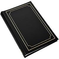 2x antiscivolo in rilegato Arpan 15,2x 10,2cm copertura imbottita, album portafoto per 300foto, colore nero