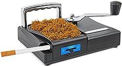 Powerfiller Zigaretten-Stopfmaschine manuell Premium 2 Automatik Zigaretten-Fertiger für Tabak und Filter-Hülsen