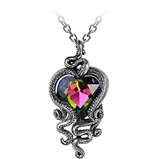 Alchemy Gothic Heart of Cthulhu Necklace