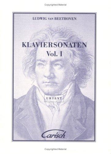Ludwig Van Beethoven: Klaviersonaten, Volume I: 1 (Urtext Collection)