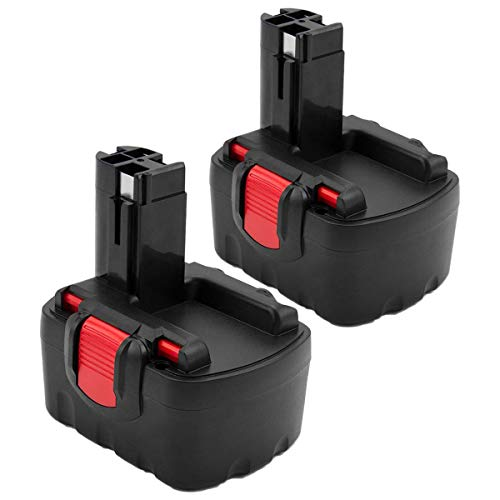 2X Exmate 14.4V 3.5Ah Ni-MH Batterie pour Bosch 2607335275...