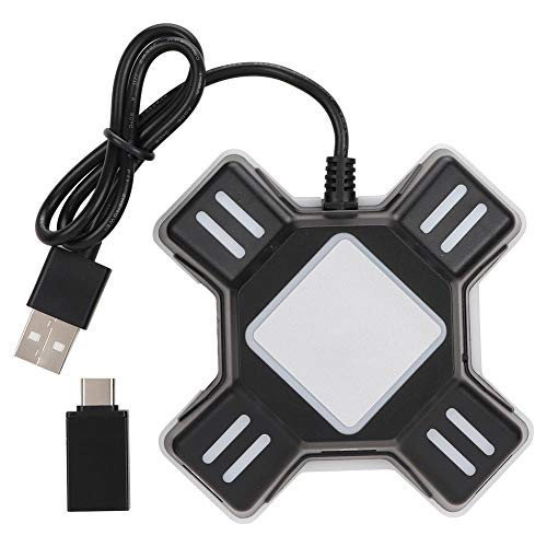 Denash Gamecontroller Griff Tastatur Maus Konverter, Spielkonsolenadapter für PS4 / PS4 Pro / PS4 Slim/XBOXOne/XBOXOne S/XBOXOne X / PS3 / PS3 Slim/Switch