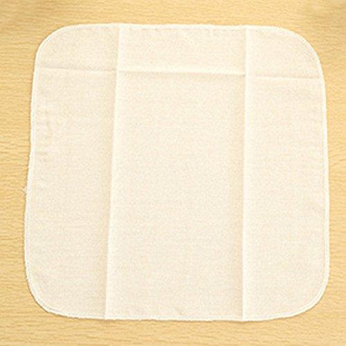 1 pieza tela algodón vaporizador cocina gasa moño