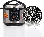 home elec قدر الضغط الكهربائي هوم إلك 10 لتر 1350 واط.