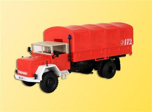Preisvergleich Produktbild Viessmann 18262 - H0 Feuerwehr Magirus A6500 mit Faltdach