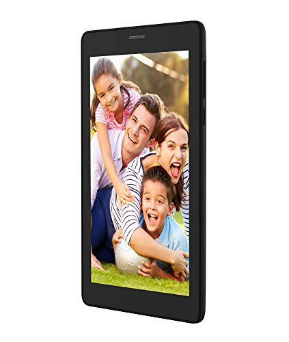 (CERTIFIED REFURBISHED) Micromax P70221 Tablet (7 inch, 16GB, Wi-Fi+ 3G+ Voice Calling), Black