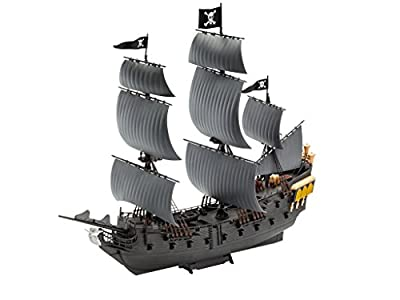 Revell Model Set - 65499 - Maquette - Easy Click - Pirate de Caraïbe, Perle Noir
