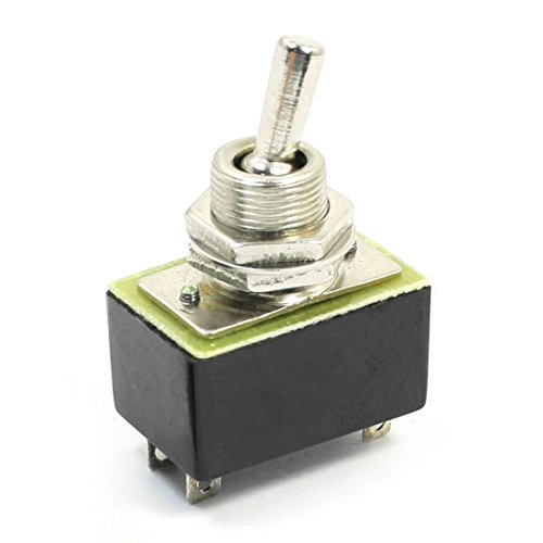 Panel Mount DPST ON/OFF 2Position Toggle Switch AC 220V 3A kn3a 1x 2 -