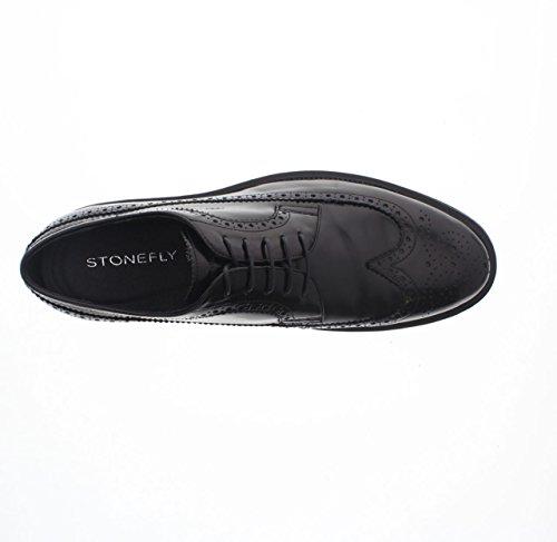 Stonefly Class 2, Scarpe Stringate Basse Oxford Uomo nero - 000