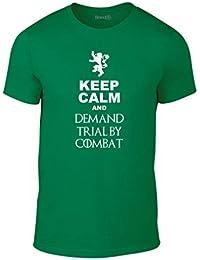 Brand88, Demand Trial By Combat, Erwachsene Mode T-Shirt