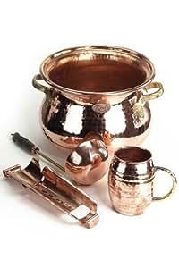 'CopperGarden®' SET: Feuerzangenbowle Kupfer