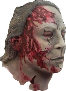 (Michael Myers Rob Zombie Halloween 2 Costume Mask)