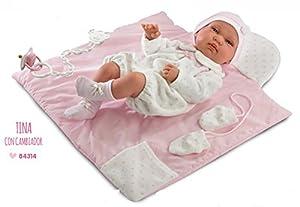 Llorens 84314Newborn Tina 43cm Doll