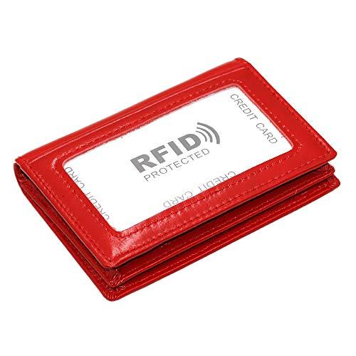 Zoom IMG-1 hibate portafogli uomo rosso red