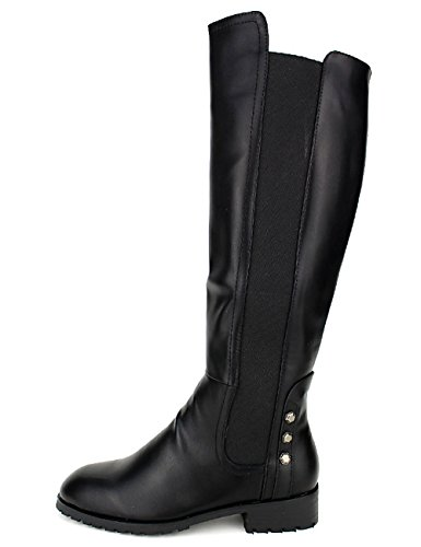Cendriyon, Botte noire Cavalière STEPHANS Chaussures Femme