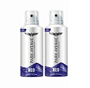 Park Avenue Signature Collection Neo Perfume Spray, 100g (Pack of 2)