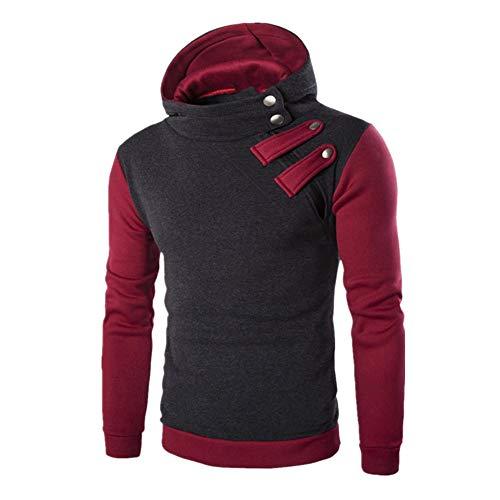 Discount boutique felpa da uomo con cappuccio felpa manica lunga moda colore cappuccio con cappuccio slim fit giacca sportiva con cerniera calda