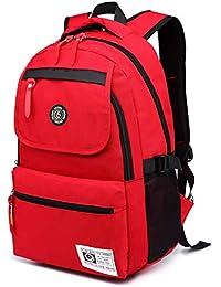 9f9120b372a0 SUPA MODERN® Unisex Nylon School Bag Waterproof Hiking Backpack Cool Sports  Backpack Laptop Bag