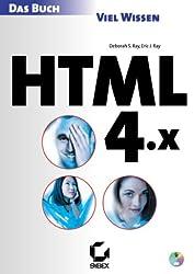 HTML 4.x. Das Buch