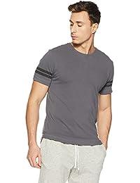 LP Jeans By Louis Philippe Men's Solid Slim Fit T-Shirt - B078HN1D8B
