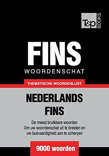 Thematische woordenschat Nederlands-Fins - 9000 woorden (Dutch Edition) por Andrey Taranov