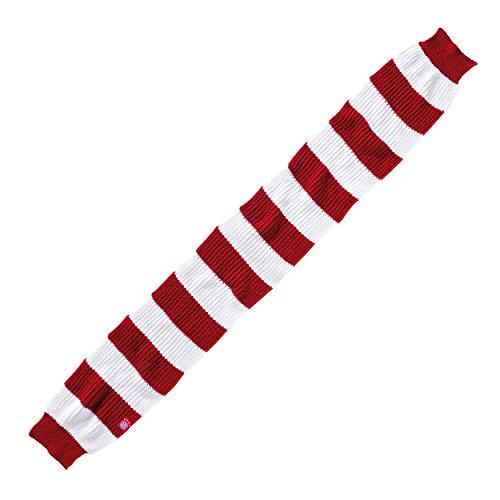 bufanda rayas rojo/blanco FC Bayern Múnich + Gratis Pegatinas München Forever,/bufanda/rassis/Viciado FCB