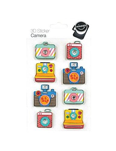 Winkee 3D Sticker Fotokamera   Photo Cam Aufkleber