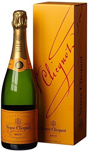 Veuve Clicquot Brut Champagner, 1 Flasche (1 x 750 ml)
