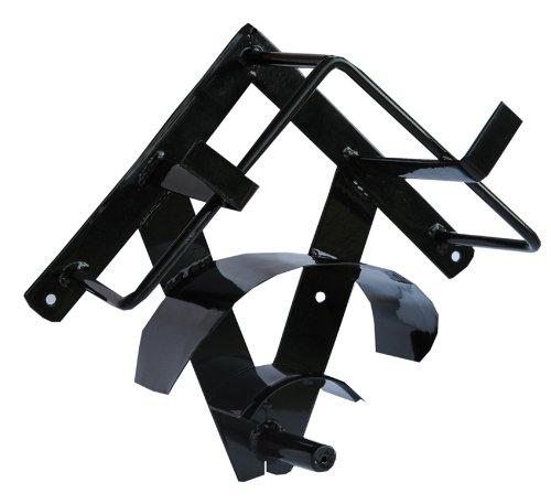 AMKA Geschirrhalter Pferd einteilig Metall schwarz   Geschirrhalter Set   Fahrgeschirr Halterung Fahrsport Zubehör Test