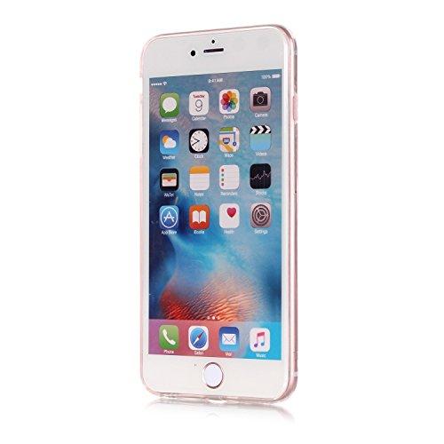 """Housse pour Apple iPhone 7Plus 5.5""""(NON iPhone 7 4.7""""), CLTPY 3D Coloré Scintillement Placage Bordure Case, Ultra Léger Mince Hull de Protection Absorption des Choques pour iPhone 7Plus + 1x Stylet -  Paillettes Rose"""
