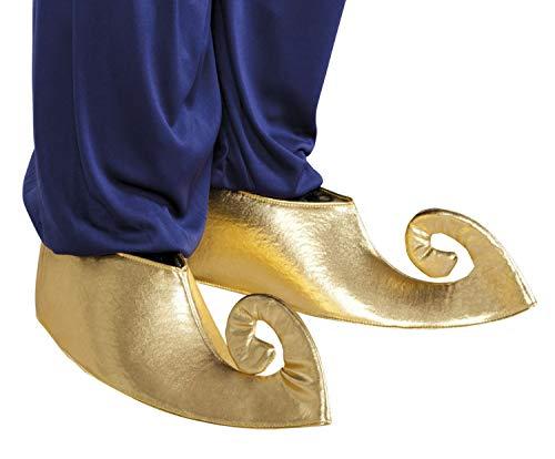 Boland 81990 Paar Überschuhe Sultan, Gold (Schuhe Gold Genie)