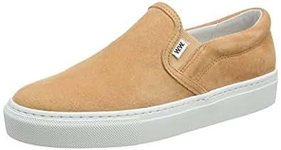 Wood Wood Shoes Unisex Erwachsene Quinn Slip on Sneakers, Schwarz (Black WW), 37 EU (5 UK)