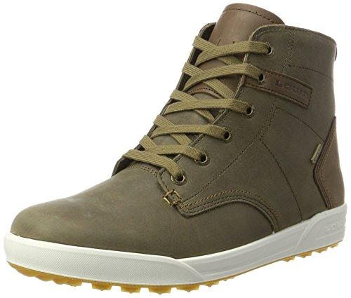 Lowa Herren London Ii GTX QC Hohe Sneaker, Braun (Olive/Beige), 47 EU